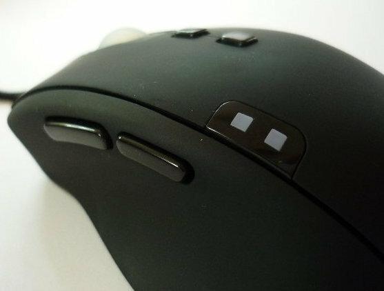 Myszka QPAD 8K Laser, fot. własne