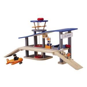 Drewniane lotnisko
