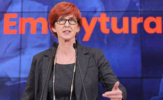 Rafalska: Trzynasta emerytura będzie wypłacana 'z urzędu'
