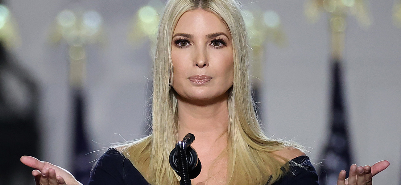 Ivanka Trump, 2020 / Chip Somodevilla / Staff z GettyImages