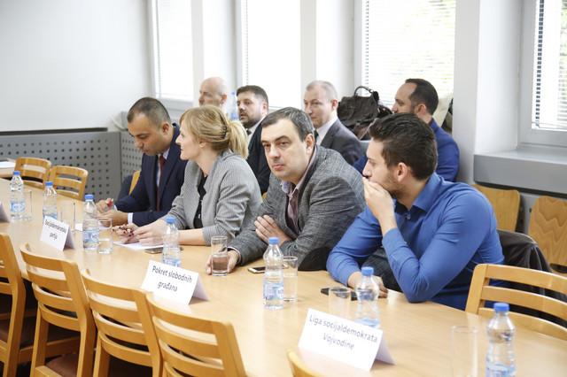 Predstavnici PSG i Socijaldemokratske partije