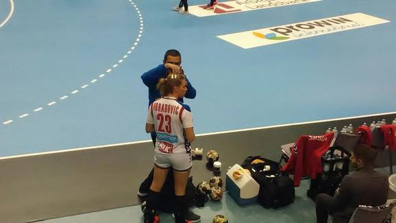 Poslednje pripreme pred meč: Marija Obradović