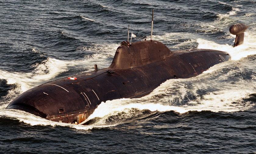 U wybrzeży Francji zauważono atomowy rosyjski okręt podwodny