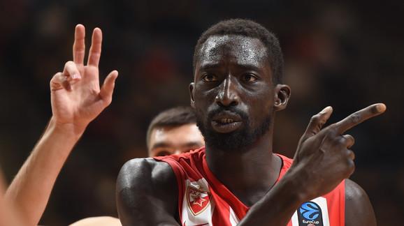 Mohamed Faje je briljirao u trećem kolu Evrokupa
