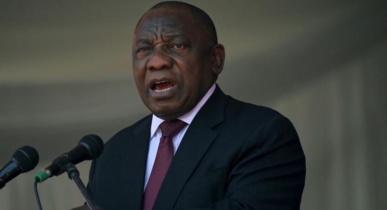 South Africa's President, Cyril Ramaphosa