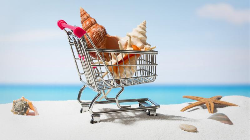 Zakupy na wakacjach