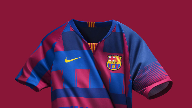 95fbfb848ab Nike release new jersey to celebrate Barcelona s 20th anniversary ...