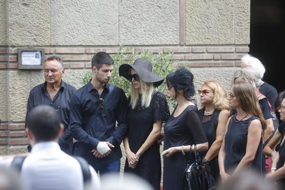 Petar na sahrani Dragoslava Miše Ognjanovića