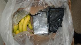 Przemyt narkotyków w transporcie bananów. Akcja CBŚP