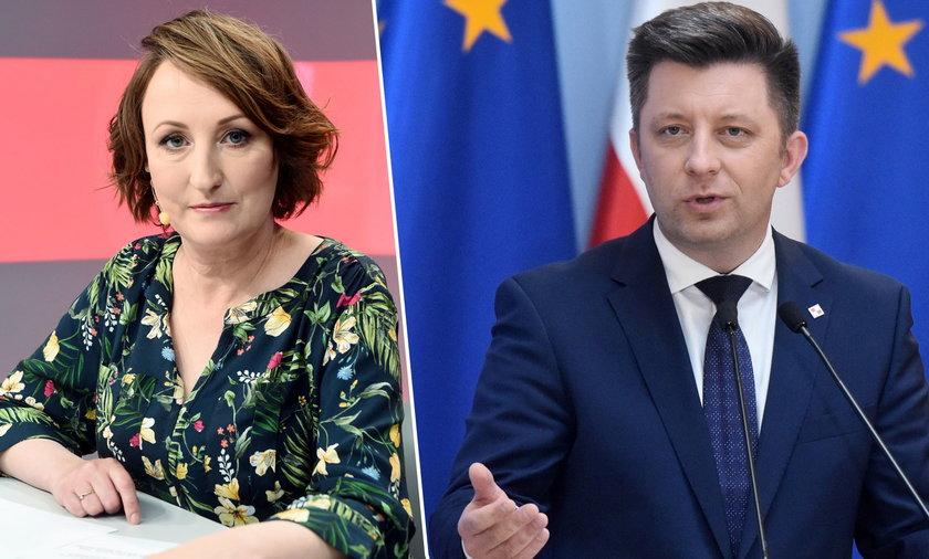 Publicystka Faktu Agnieszka Burzyńska o kolejnych mailach wyciekających ze skrzynki Michała Dworczyka.