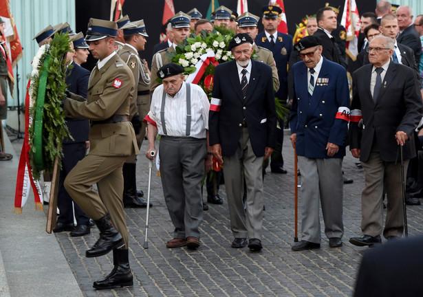 """Weteran walk o niepodległość Polski dodał też, że """"AK-owski etos to są wartości i patriotyczne postawy, których nikt nie kwestionuje"""
