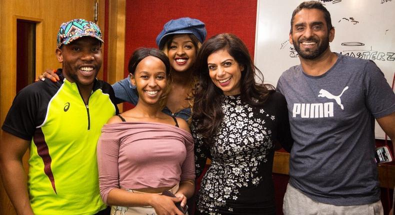 Amina Abdi Rabar and Fareed Khimani hosts 1st Radio Marathon in Africa
