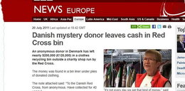 Znaleźli fortunę w używanej odzieży. Szukają darczyńcy