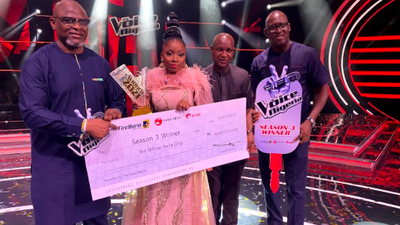 Esther Benyeogo emerges as the winner of The Voice Nigeria season 3