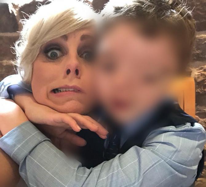 Kaže da su reakcije ljudi na njenog sina užasavajuće