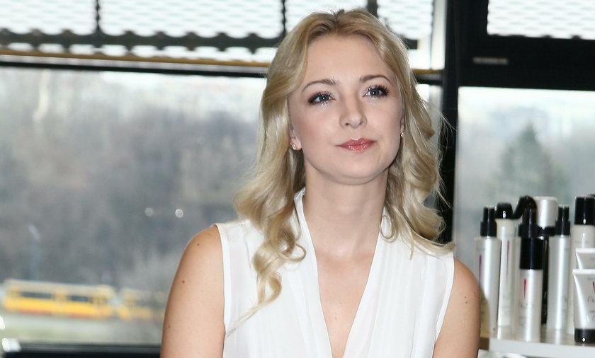 """Barbara Kurdej-Szatan w """"M jak miłość"""""""