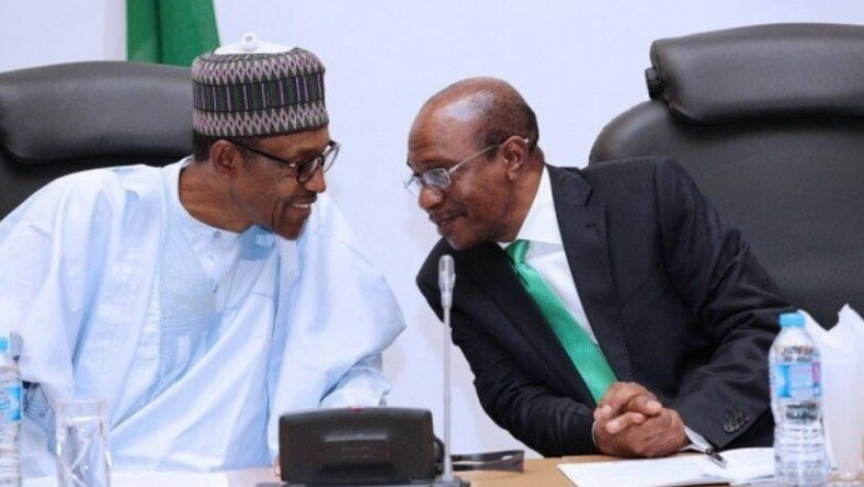 Image result for Buhari reappoints CBN governor Emefiele for second term