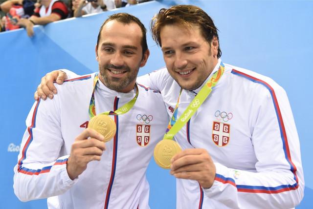 Kumovi: Živko Gocić i Slobodan Nikić