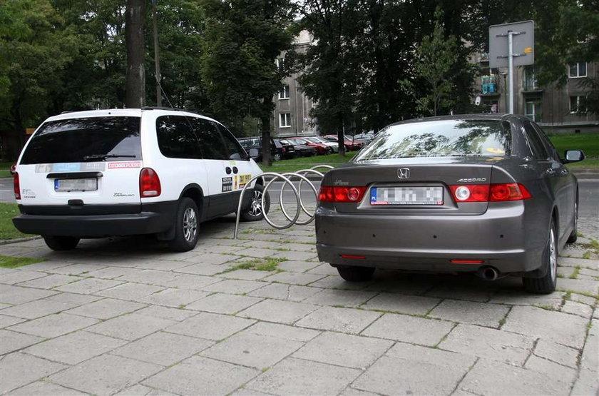 Urzędnicy mają parking tylko dla siebie