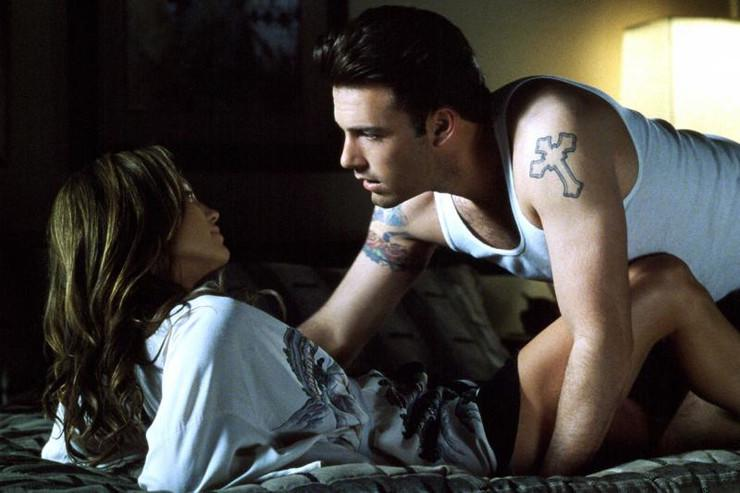 "Jennifer Lopez i Ben Affleck, ""Gigli"""