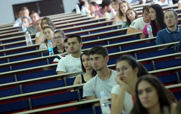 Najskuplje je polagati prijemni na fakultetima Beogradskog univerziteta
