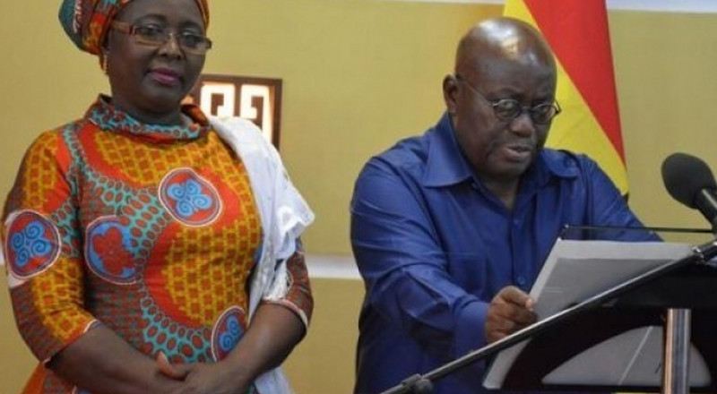Akufo-Addo didn't give timelines to end galamsey - Hajia Mahama
