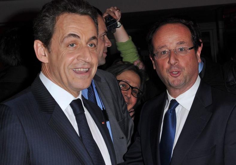 Francois Hollande i Nicolas Sarkozy