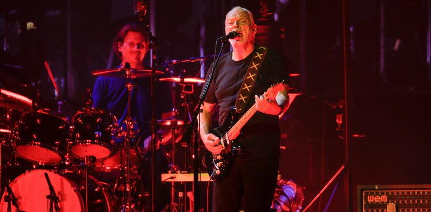 Fenomenalny koncert Davida Gilmoura