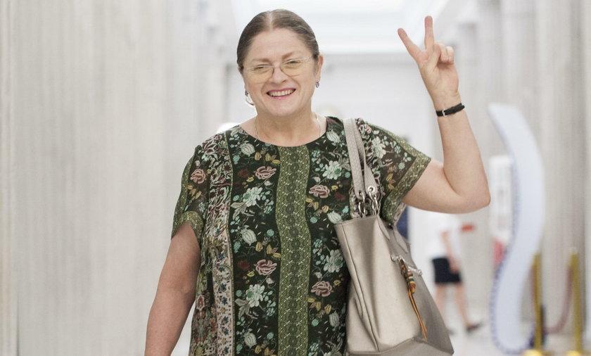Krystyna Pawłowicz odchodzi z polityki
