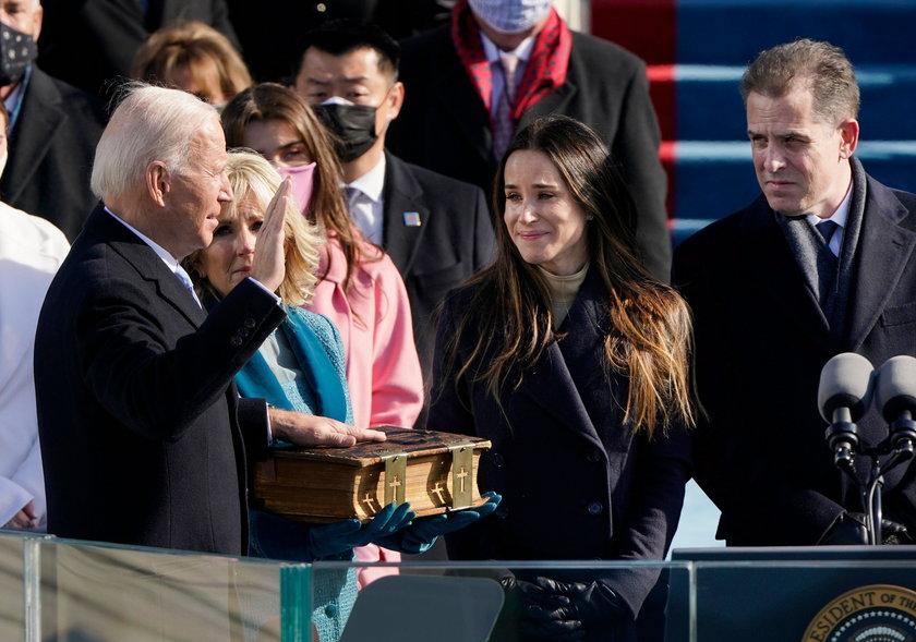 Zaprzysiężenie Joego Bidena na prezydenta USA