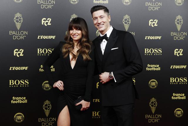 Robert Levandovski sa suprugom