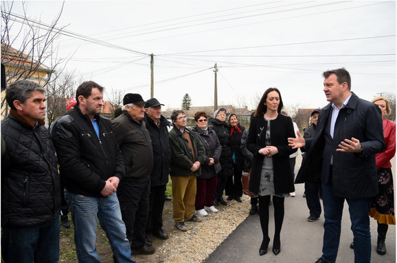 Igor Mirović u poseti opštini Žitište