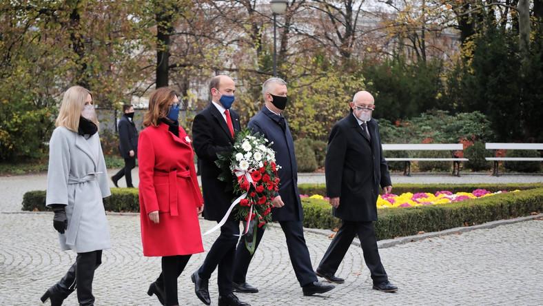 Borys Budka, Aleksandra Gajewska, Małgorzata Kidawa-Błońska, Marek Borowski, Tomasz Siemoniak