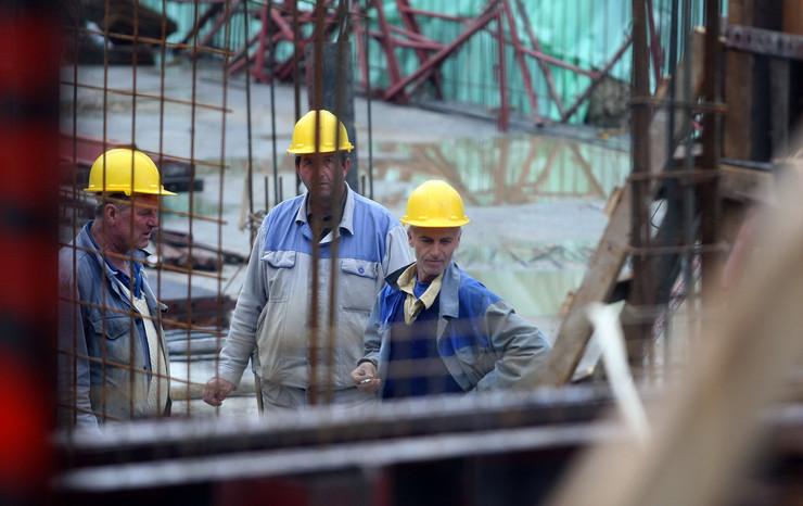 gradjevici radnici