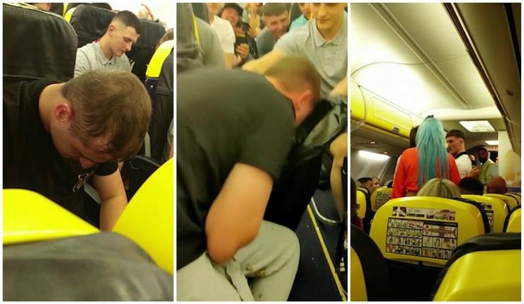 kolaž pijani putnici