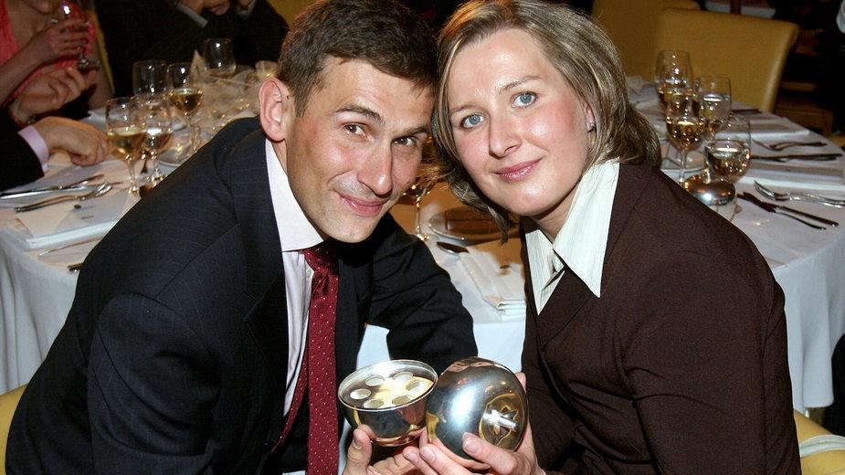 Robert Korzeniowski i Agnieszka Korzeniowska