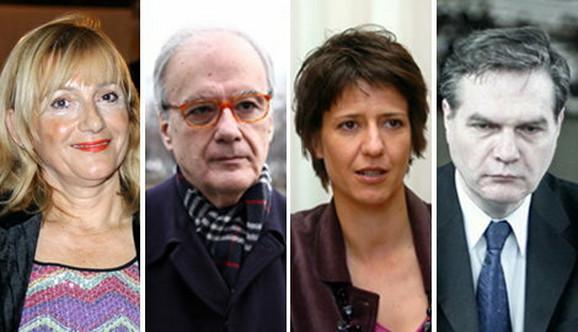 Radmila Hrustanović(Slovačka), Dejan Popović(Velika Britanija), Milica Čubrilo(Tunis) i Ivo Visković(Nemačka)