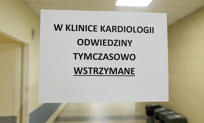 Świńska grypa w szpitalu