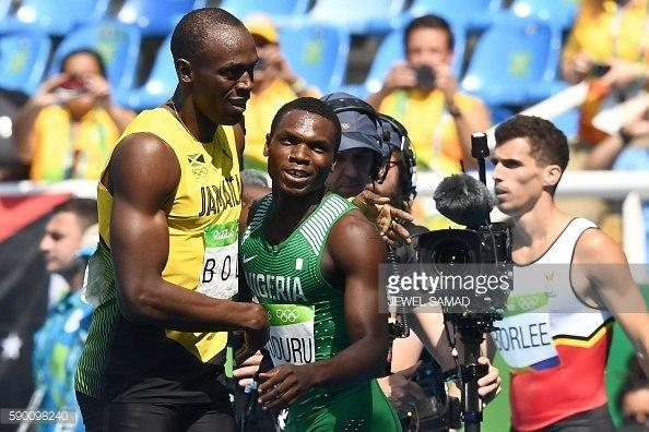 Divine Oduduru got to the semi-final of the 200m at the 2016 Olympic Games but his progress seemed to have stalled