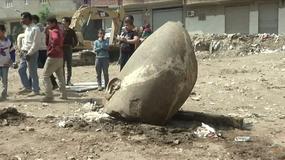 W Egipcie znaleziono ogromny posąg Faraona