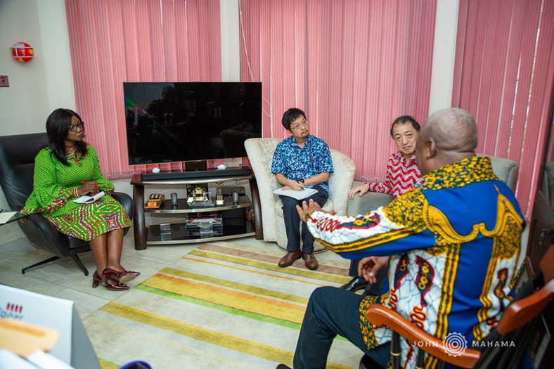 Japanese envoy calls on Mahama 2
