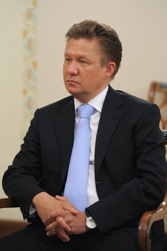 Aleksej Miler, predsednik Upravnog odbora Gasproma