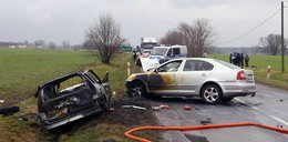 Auto spłonęło na drodze. Szokujące fakty