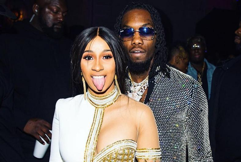 Cardi B and her husband, Offset
