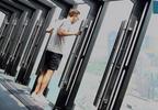 Zawiśnij 300 metrów nad ulicami Chicago na specjalnej platformie