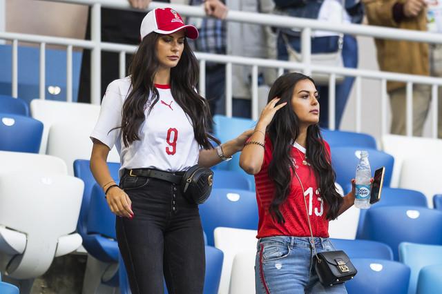 Navijačice na utakmici u Kalinjingradu