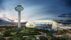 """Lotnisko Changi w Singapurze buduje fantastyczne centrum handlowe """"Jewel"""" za 1,5 mld dolarów"""