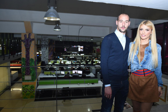 Milan i Snežana Borjan u redakciji