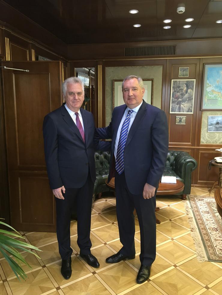 Nikolic Rogozin, Tanjug, Nacionalni savet za koordinaciju saradnje sa Ruskom Federacijom i NR Kinom