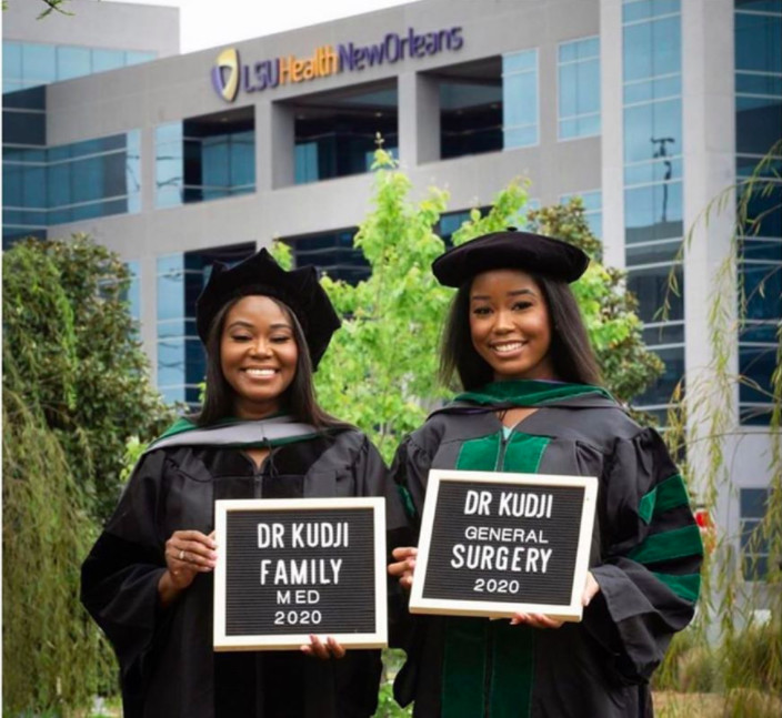 Mom and daughter graduate from the same med school